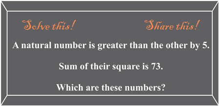 Find those numbers