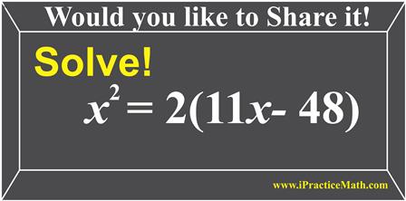Solve it!