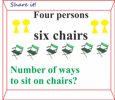 Sit on chairs