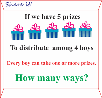 Prizes to be distributed