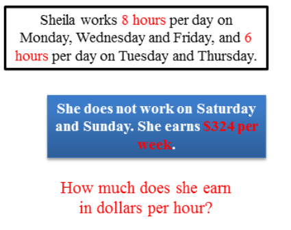 How much does she earn?