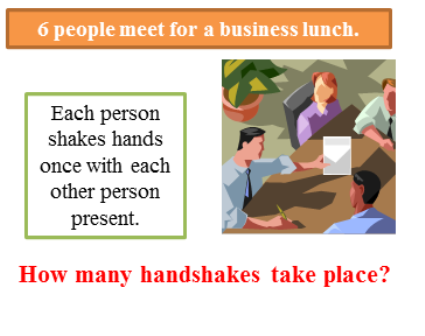 People meet for a business lunch