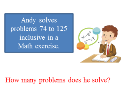 How many Math problems does he solve?